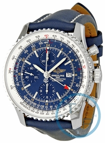 Breitling A2432212-C651-101X-A20BA.1 Navitimer World Mens Chronograph Automatic Watch