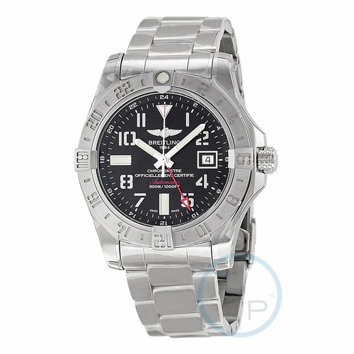 Breitling A3239011-BC34-170A Avenger II GMT Mens Automatic Watch