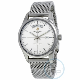 Breitling A4531012-G751-154A Transocean Day & Date Mens Automatic Watch