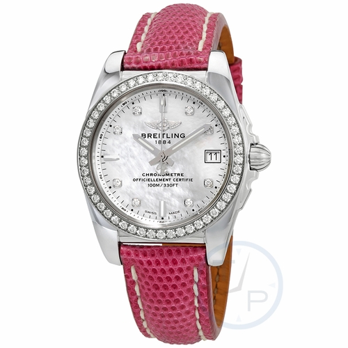 Breitling A7433053-A780LIZT Galactic 36 Ladies Quartz Watch
