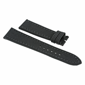 Breitling Antharacite Canvas Watch Band Strap 24 mm-20 mm