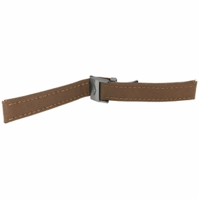 Breitling Brown Canvas 22 mm Strap