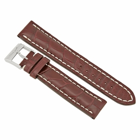 Breitling Brown Crocodile Leather Strap