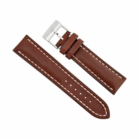 Breitling Brown Leather Watch Band Strap 11mm - 20 mm - 22mm 437X-A20BA.1