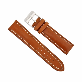 Breitling Brown Leather Watch Band Strap 22mm - 20 mm 433X-A20BA.1