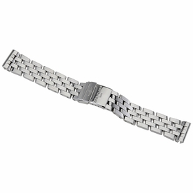 Breitling Cockpit Steel Pilot Stainless Steel Bracelet with Deployment Buckle 20-18mm