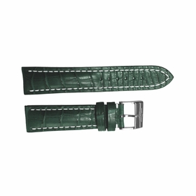 Breitling Green Strap Stainless Steel Tang Buckle 22-20mm