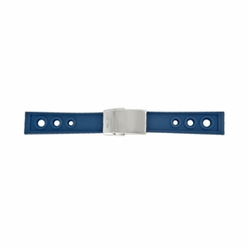 Breitling Blue Ocean Racer Rubber Strap with a Stainless Steel Deployment Buckle 22-20mm