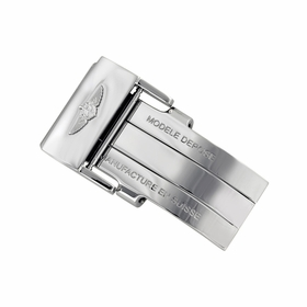 Breitling Stainless Steel Folding Buckle - 20mm 20mm