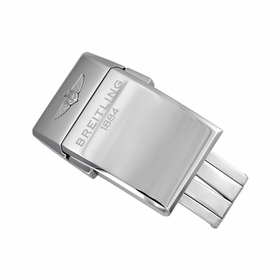 Breitling Stainless Steel Push Button Folding Buckle 20mm