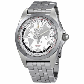 Breitling WB3510U0-A777-375A Galactic Unitime Mens Automatic Watch