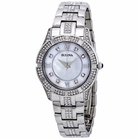 Bulova 96L116 Crystals Ladies Quartz Watch