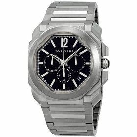 Bvlgari 102116 Octo Velocissimo Mens Chronograph Automatic Watch