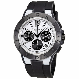 Bvlgari 102305 Diagono Magnesium Mens Chronograph Automatic Watch