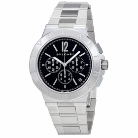 Bvlgari 102330 Diagono Velocissimo Mens Chronograph Automatic Watch
