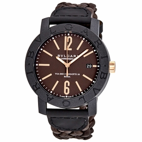 Bvlgari 102633 Bvlgari Bvlgari Mens Automatic Watch