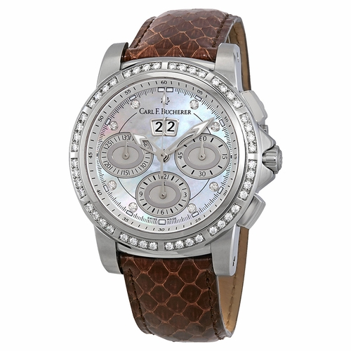 Carl F. Bucherer 00.10611.08.74.11 Chronograph Automatic Watch
