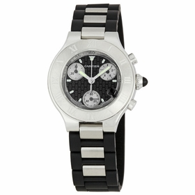 Cartier W10198U2 21 Chronoscaph Ladies Chronograph Quartz Watch