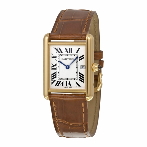 Cartier W1529756 Tank Mens Quartz Watch