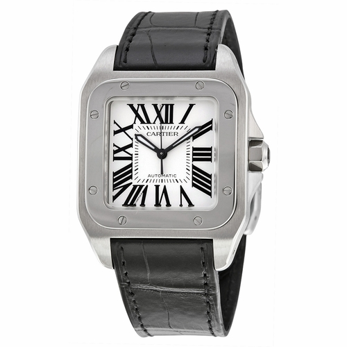 Cartier W20106X8 Santos 100 Unisex Automatic Watch