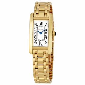 Cartier W26015K2 Tank Americaine Ladies Quartz Watch