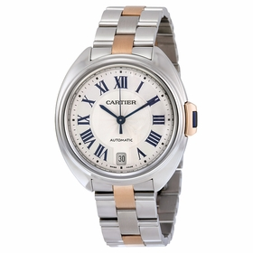 Cartier W2CL0003 Cle Ladies Automatic Watch