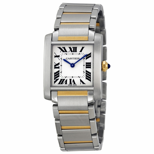Cartier W2TA0003 Tank Francaise Ladies Quartz Watch