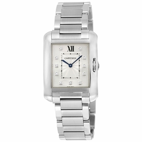 Cartier W4TA0004 Tank Anglaise Ladies Quartz Watch