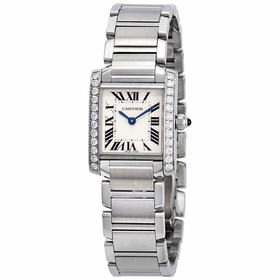 Cartier W4TA0008 Tank Francaise Ladies Quartz Watch