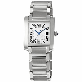 Cartier W51002Q3 Tank Francaise Mens Automatic Watch