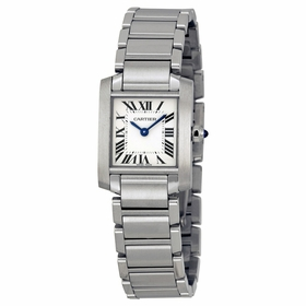 Cartier W51008Q3 Tank Francaise Ladies Quartz Watch