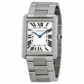 Cartier W5200014 Tank Solo Mens Quartz Watch