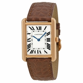 Cartier W5200025 Tank Solo Ladies Quartz Watch
