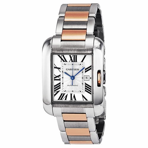Cartier W5310007 Tank Anglaise Unisex Automatic Watch