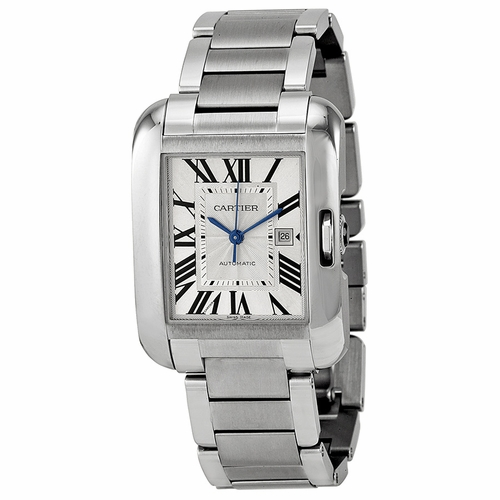 Cartier W5310009 Tank Anglaise Mens Automatic Watch