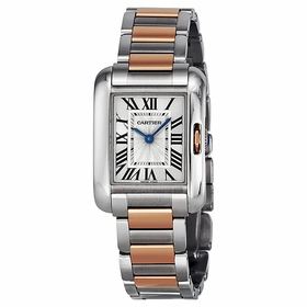 Cartier W5310036 Tank Anglaise Ladies Quartz Watch
