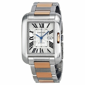 Cartier W5310037 Tank Anglaise Ladies Automatic Watch