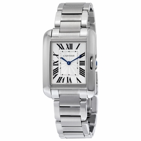 Cartier W5310044 Tank Anglaise Ladies Quartz Watch