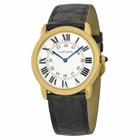 Cartier W6700455 Ronde Louis Cartier Mens Quartz Watch