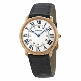 Cartier W6800251 Ronde Louis Cartier Mens Hand Wind Watch