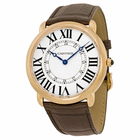Cartier W6801004 Ronde Louis Cartier Mens Hand Wind Watch