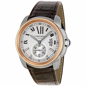 Cartier W7100039 Calibre de Cartier Mens Automatic Watch