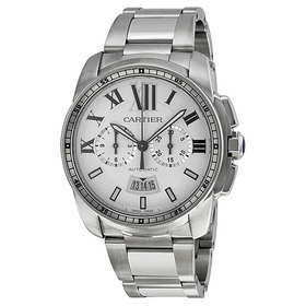 Cartier W7100045 Calibre de Cartier Mens Chronograph Automatic Watch