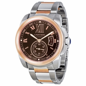Cartier W7100050 Calibre De Cartier Mens Hand Wind Watch
