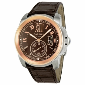 Cartier W7100051 Calibre De Cartier Mens Automatic Watch