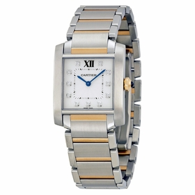 Cartier WE110005 Tank Francaise Ladies Quartz Watch