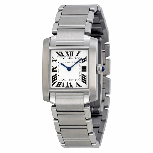 Cartier WSTA0005 Tank Francaise Ladies Quartz Watch