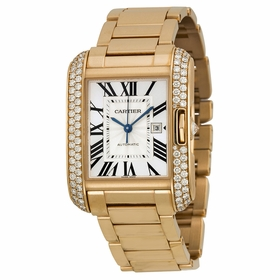 Cartier WT100003 Tank Anglaise Mens Automatic Watch