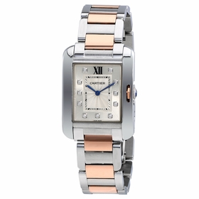 Cartier WT100032 Tank Anglaise Ladies Quartz Watch