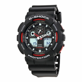 Casio GA100-1A4 G-Shock Mens Chronograph Quartz Watch